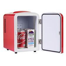 iceQ 4 Litre Portable Small Mini Fridge For Bedroom, Mini Cooler, Warmer In Red