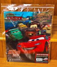 Disney Pixar Cars 2 Team Lightning McQueen 95 Limited Edition 3D Print New