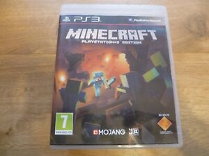 Minecraft Playstation 3 Edition - Playstation 3 - PAL 2014 Region 2 - Very Good