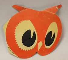 Red Owl Needle Kit, Die-Cut Owl Head