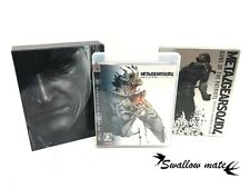 Playstation3 Metal Gear Solid 4 Guns of the Patriots Limited Edition Japan