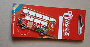 pin's Jeux Olympiques / Londres 2012 - partenariat Coca cola (version bus)