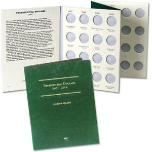 Coin Folder for 2007-2016 Presidential Dollars LCF35 Quality Album by Littleton