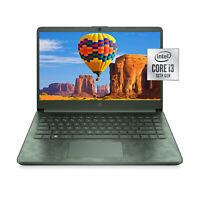 "NEW HP 14"" HD 10th-Gen i3-1005G1 3.4GHz 8GB 256GB SSD Windows 10 Laptop Camo"
