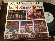 "JESTERS OF DESTINY . IN A NOSTALGIC 12"" LP HARD ROCK HEAVY - METAL BLADE HOLLAND"
