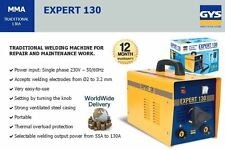 GYS EXPERT 130 55-130 AMP 1 PHASE PORTABLE WELDING MACHINE WITH HAND MASK