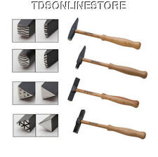 Set Of 4 Artisan's Mark Texturing Hammers By Wubbers