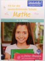 Übungsblock Mathematik + Training Nachhilfe + Original Schülerhilfe 4.-5.Klasse