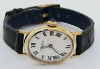 Cartier & Concord vintage 14K gold elegant oval mechanical ladies watch w/ box