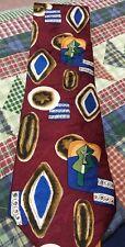 M Dumas And Sons Men's Necktie Texas American Southwest Motif