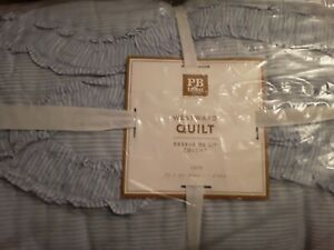 Brand New Pottery Barn Westward Quilt Twin with Tags