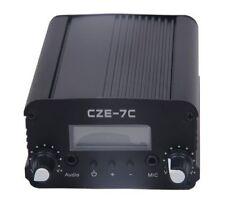 CZH 5W/7W CZE-7C FM stereo PLL transmitter 87-108MHZ GP100 antenna Kit