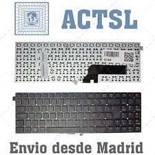 Keyboard Spanish for Clevo w550eu Black