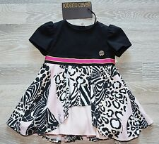 ROBERTO CAVALLI BABY GIRL DRESS KLEID Tutu Rock  Gr.6 M Gr.68 NEU NP 369€