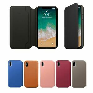 For Apple iPhone 11 Pro Max XR X 8 7 6 Se 2020 Leather Case Cover Folio C3410