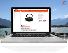 EBAYVORLAGE 2020 Responsive Template Dark Orange + Editor ohne aktive Inhalte