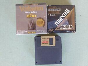 Floppy Disk Lot of 25 Maxell Verbatim MF2HD