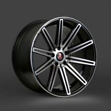 Polished AXE Rims with 5 Studs