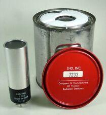 LND Model 7233 End Window-Alpha-Beta-Gamma Detector Tube - NEW!