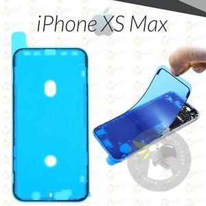 ADESIVO APPLE IPHONE XS MAX BIADESIVO DISPLAY GUARNIZIONE FISSAGGIO SCHERMO LCD