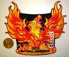 OA 2013 NATIONAL SCOUT JAMBOREE FLAP FIRE PHOENIX CLASS B POCKET PATCH PRETTY!
