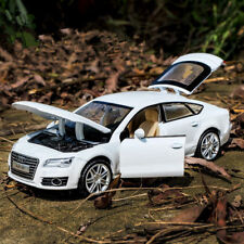 Audi A7 1:32 Model Cars Alloy Diecast Sound & Light Toys Collection&Gifts White