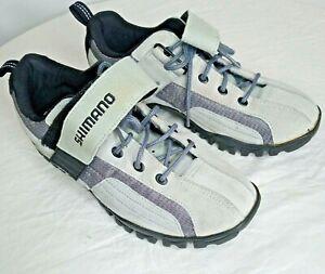 Shimano SH-MT40WL Gray SPD Cycling Mountain Bike Shoes US Womens EU 41= 9 US