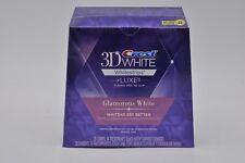 CREST 3D Luxe Glamorous White Whitestrips Teeth Whitening Strips 28 Strips w/BOX