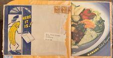 Vintage 1950 Banana Salad Bazaar Recipe Booklet From Home Economics Department