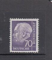 BRD Mi-Nr. 263 xw R - Rollenmarke mit Nummer 0655 ** postfrisch