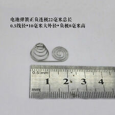 Pagoda Battery Welding Spring 0.5 Wire Diameter 10mm OD Tower Springs 8mm Long