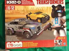 KREO TRANSFORMERS BUMBLEBEE & AUTOBOT JAZZ 179 PCS. BUILDING TOY