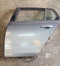 Volkswagen Golf MK6 2009-2012 Passenger NSR Rear Door Grey LA7T Manual Windows