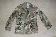 Military BDU Medium Long Field Jacket Camouflage US Army USAF US Navy MenBoys180