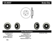 High Carbon Alloy Brake Disc fits 2005-2008 Honda Civic CR-V  CENTRIC PARTS