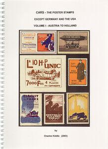 (I.B-CK) Cinderella Catalogue : Poster Stamps : Cars (Volume I)