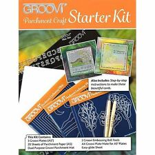 Clarity Stamp Groovi Plate Starter Kit Deluxe