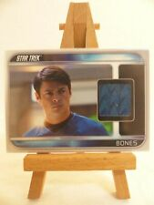 Star Trek 2009 movie trading relic costume card CC7 Karl Urban as Bones