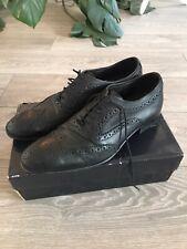 Base London Black Formal Shoes Size 8
