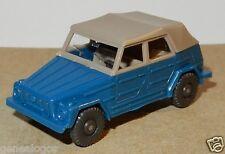 MICRO WIKING HO 1/87 VW VOLKSWAGEN 181 COX KÄFER BEETLE COX COCCINELLE BLEU