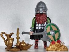 Playmobil viking - romain - barbare - gaulois - celte - guerrier #26B - custom