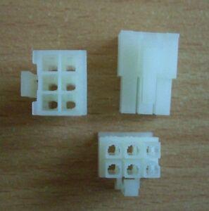 50 Stk. Buchsengehäuse 2x3P Molex 5557-06R 39-01-2060