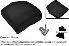 BLACK STITCH 08-12 CUSTOM FITS YAMAHA 600 YZF R6 REAR SEAT COWL PAD COVER