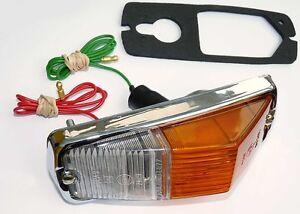 Lucas L677 Side & Indicator Lamp for MGB Roadster Aston Martin Spitfire, BHA4966
