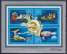 Hungary Sc C350 MNH. 1974 UPU Centenary Souvenir Sheet