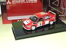 MITSUBISHI LANCER VII RALLYE MONTE CARLO 2002  C. Mc RAE AUTOART 1:43 14ème