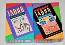 Taboo & Celebrity Taboo - Both 100% complete 1st editions - Very Nice condition