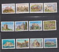 Serie sellos adhesivos de Francia 2012 Yvert AD 714/25