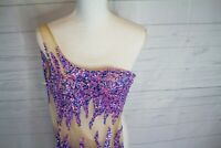 Party Time Formals Prom/Formal/ Wedding/Pageant Mermaid One Shoulder Gown Size 0