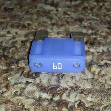 Lot 10 Littlefuse 60A Maxi Blade Fuse 60 AMP 32V Blue Type 299 Auto Car Truck